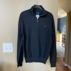 Polo Ralph Lauren zip neck sweater
